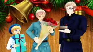 MMD Hetalia - Happy birthday, Finny! by PikaBlaze