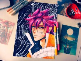 Natsu Dragon Cry - Copic Markers by Catstudio7