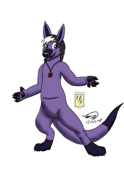 Stormy Roo Vector by Electuroo