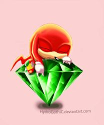 Knuckles the echidna by HydroGothiC