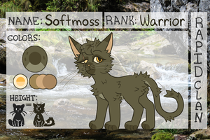 COTB Application - Softmoss of RapidClan by elemmele