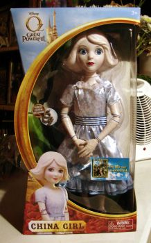 My New China Girl Doll by MelianMarionette