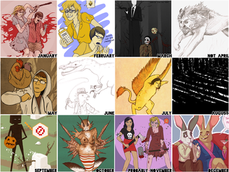 Art Summary 2011 by Elliekin