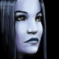 Tarja in Blue by whutnot