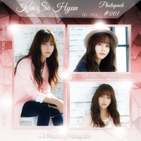 +KIM SO HYUN | Photopack #OO1 by AsianEditions