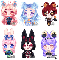 .: Adoptable batch .: {1/6} by Haru-cchi