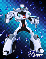 Jazz - Transformers Animated by BW-Straybullet