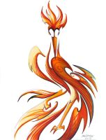 Angry Phoenix by RHPotter