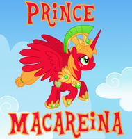 Prince Macareina by Itoruna-The-Platypus