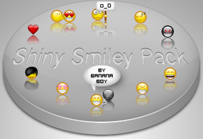 Shiny Smiley Pack by BaNaNA-BOi