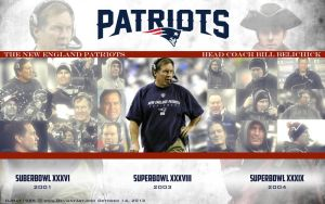 Bill Belichick Head Coach Wallpaper by Djray1985