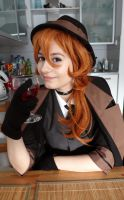 Do you want some wine? - Chuuya cosplay by amikoRoyAi
