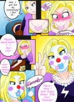 Android 18 Clowning Around (With Story) by Kobi-Tfs