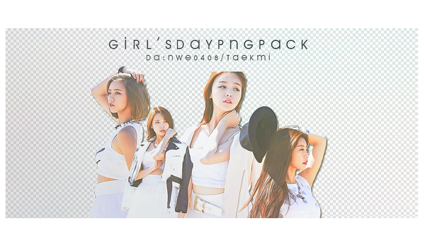 04 / Girl's Day PNG PACK by NWE0408