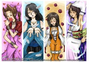Final Fantasy Girls (Before and after)