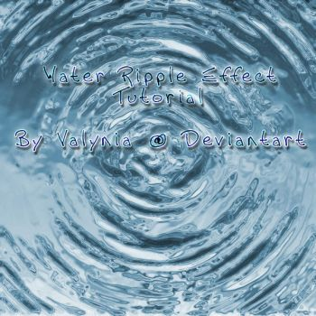 Tutorial: Water Ripple Effect by Valynia