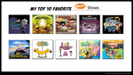 My Top 10 Nickelodeon Shows by MarioFanProductions