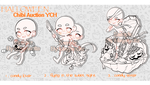 YCH|Auction : Halloween Chibi (CLOSED) by Magancito