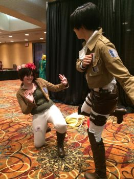 Then I punished Eren for leaving me by MastaSnell