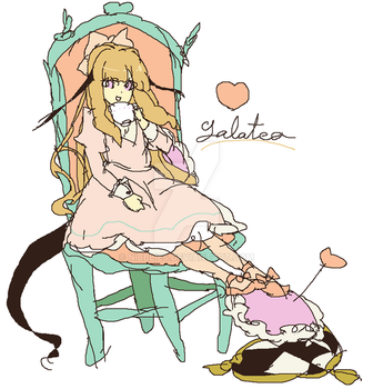 chair on the girl by nibblies