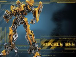 AutoBot: Bumble Bee Wallpaper by polarbear0743