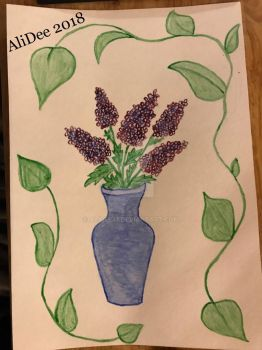 Lilacs for Spring by AliDee33