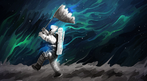The Man Who Walked on the Moon by maagg