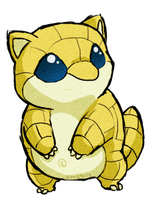 Sandshrew WWS by the19thGinny