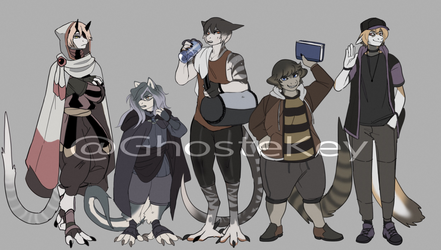 Adama Adopts ( sold ) by GhosteKey