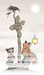 The Fox and the Girl by liliesformary
