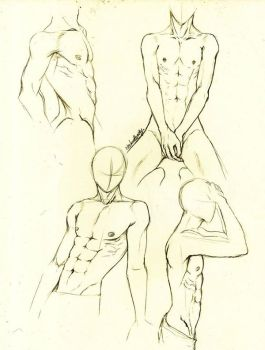 male body by Nekodeedy