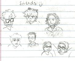 friends c: by AsplodedKeruri