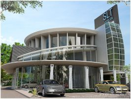 car showroom - another view by Neellss