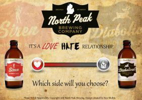 North Peak Brewing Ad 1 by rsholtis