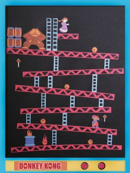 Donkey Kong Re-Constructed by boronfilms