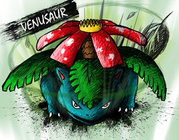Venusaur by sudro