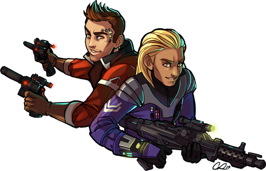 SWOTR:  Sandor +Theron by CPatten