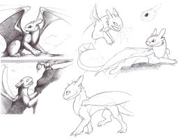 Toothless by kovah