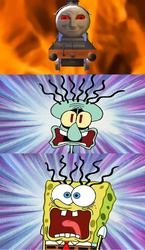 Spongebob And Squidward Scared Of 98462/alfred by Thenewmikefan21