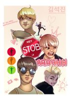 JIN | Worldwide Handsome by Lushies-Art