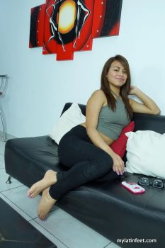 Beauty Camila in her audition by mylatinfeet