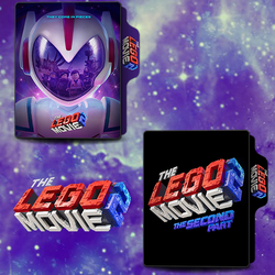The Lego Movie 2 (2019) Folder Icon by van1518