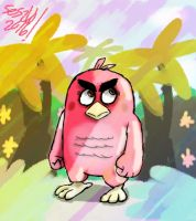Red (Angry Birds Movie) by selom13