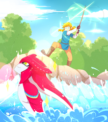 What a catch! by La-Emperatriz