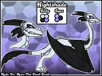 Nightshade - Surprise Comm by TheBigEarredBat