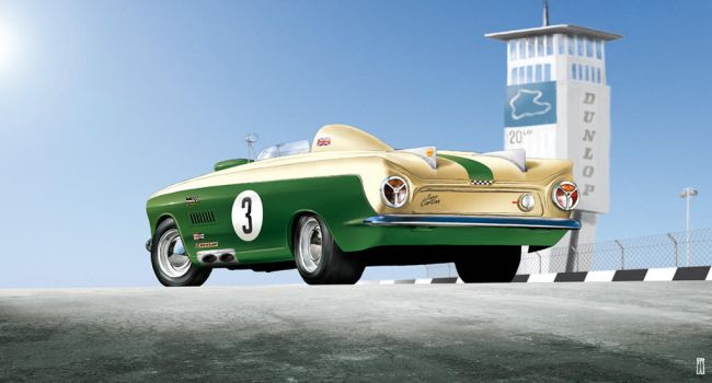 Ford Cortina Race Concept by liquidforests
