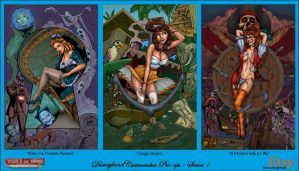 Disney Castmember Pinups Series 1 by DocRedfield