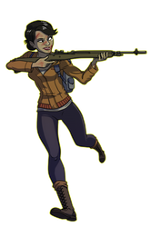 State of Decay - Maya Torres by thousanium