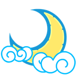 Cutiemark 001- Moon Cloud by Stormchaser-The-Pony
