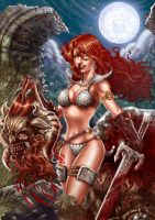 Red Sonja by RobertoRibeiro
